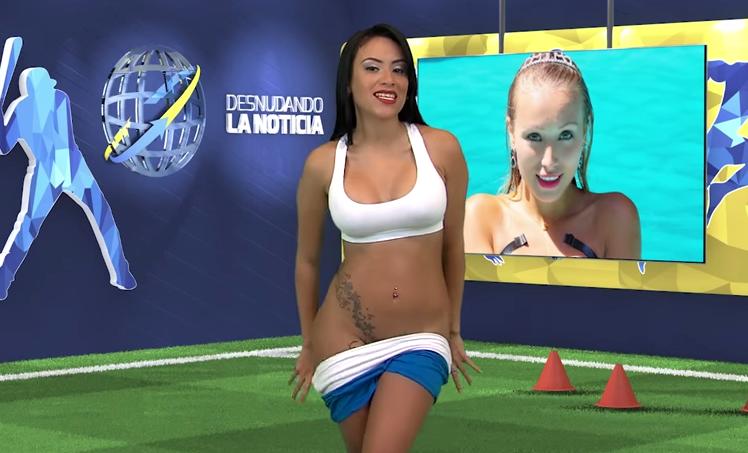 Сексуальная ведущая бразилии