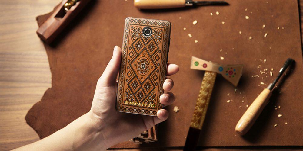 «Цитрус» представил первый украинский эко-смартфон