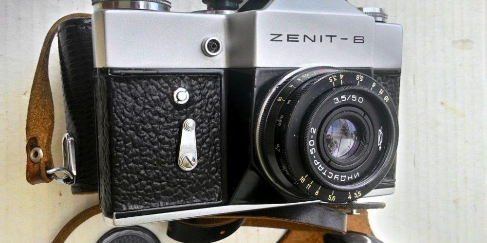 Фотоаппарат «Зенит» восстанет из пепла в 2018 году
