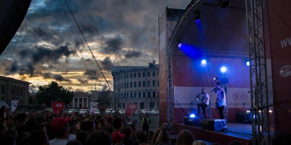 Выступление O.Torvald на Контрактовой