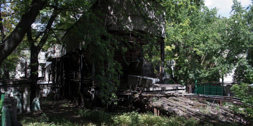Заброшенные сооружения центра Киева