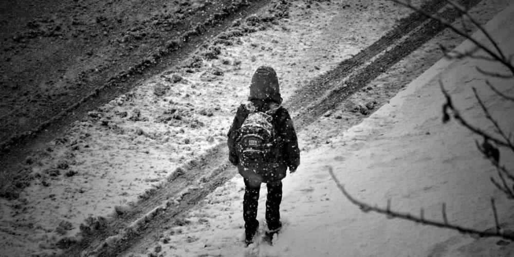Снег 08.12.12 в Луганске