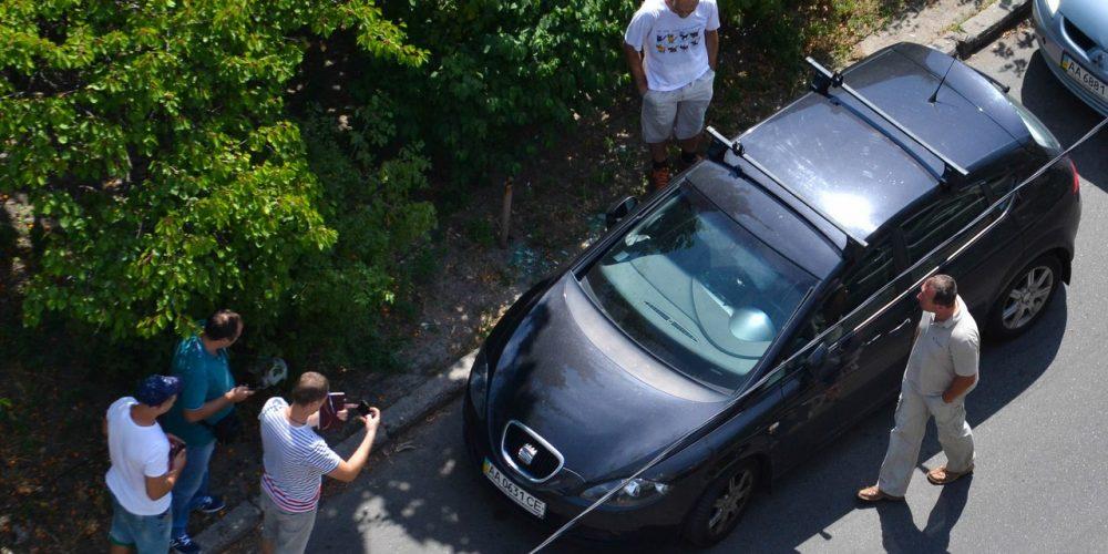 Ограбление машины