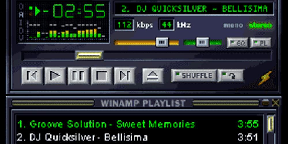 Вспоминая Winamp. Слушайте музыку на старом плеере.