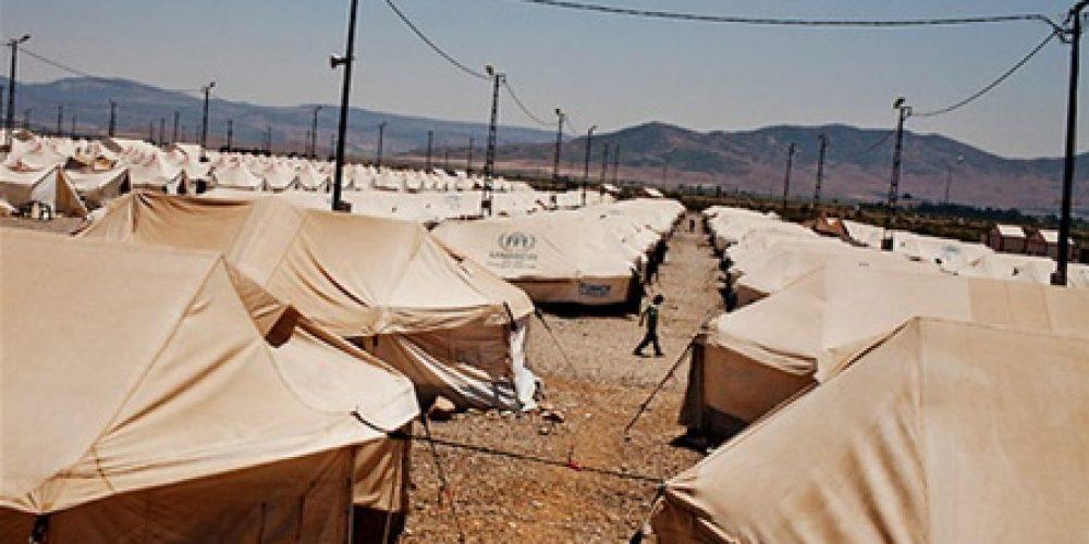 О лагере беженцев в российском Донецке