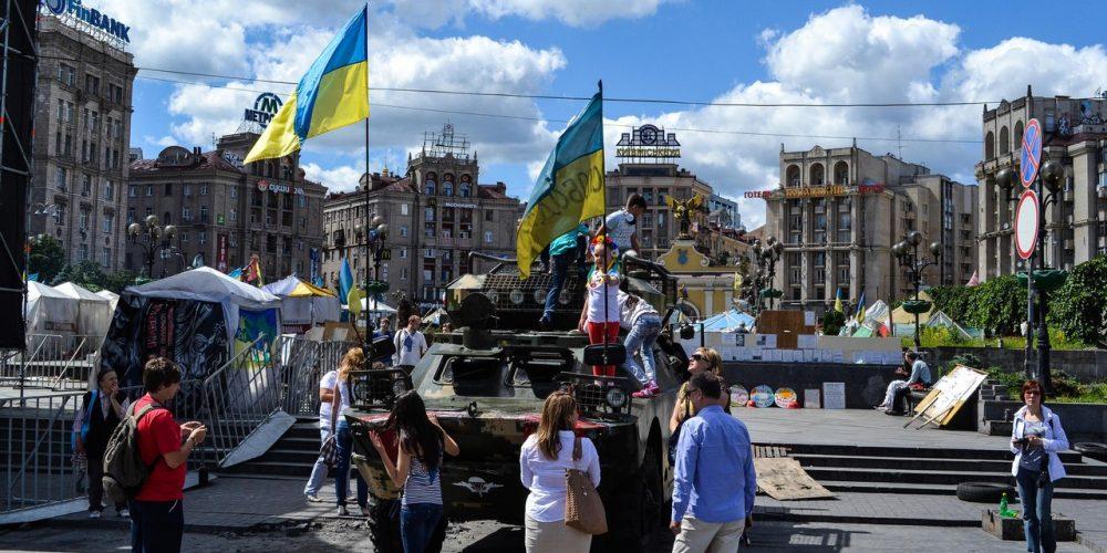Киев революционный. Майдан и околомайданье.