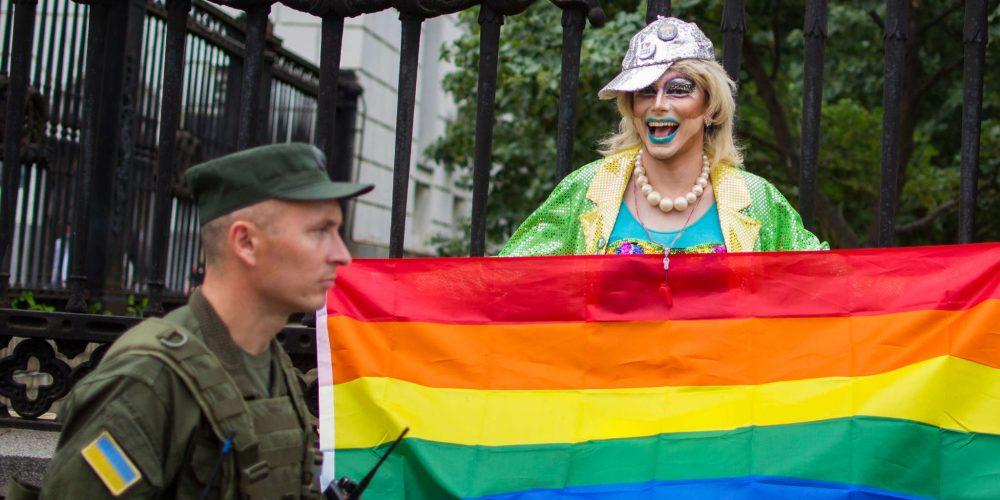 Фото с Марша равенства в Киеве – КиевПрайд 2018