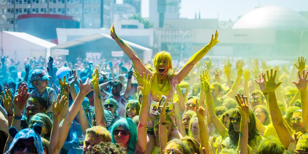 Фото с мероприятия Kyiv Color Run 2018